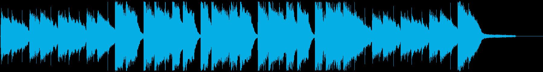 CM・秋の優しい夕焼けポップの再生済みの波形