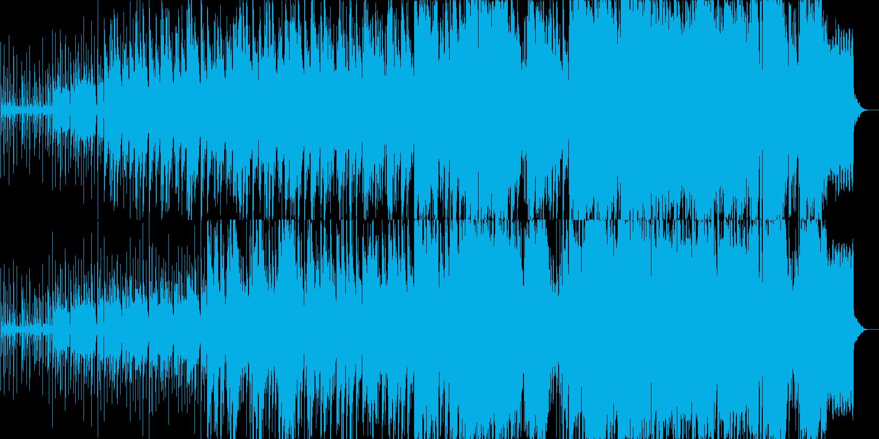 怪しい雰囲気が漂うインド音楽の再生済みの波形