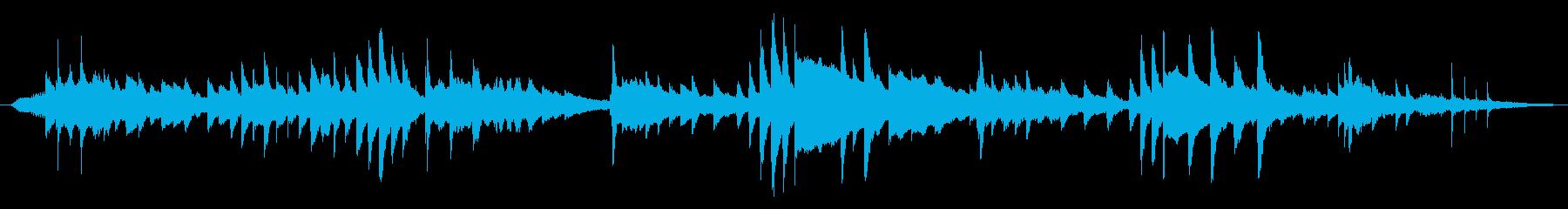 クラシック 交響曲 憂鬱 悲しい ピアノの再生済みの波形
