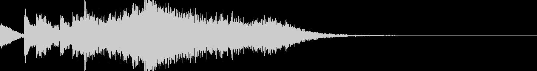 オーケストラ イントロ ジングル1の未再生の波形