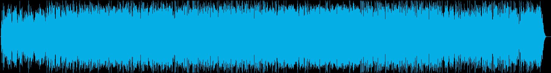 切ない雰囲気のフィーリングミュージックの再生済みの波形