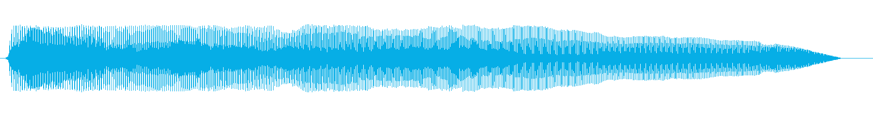 おなら1の再生済みの波形