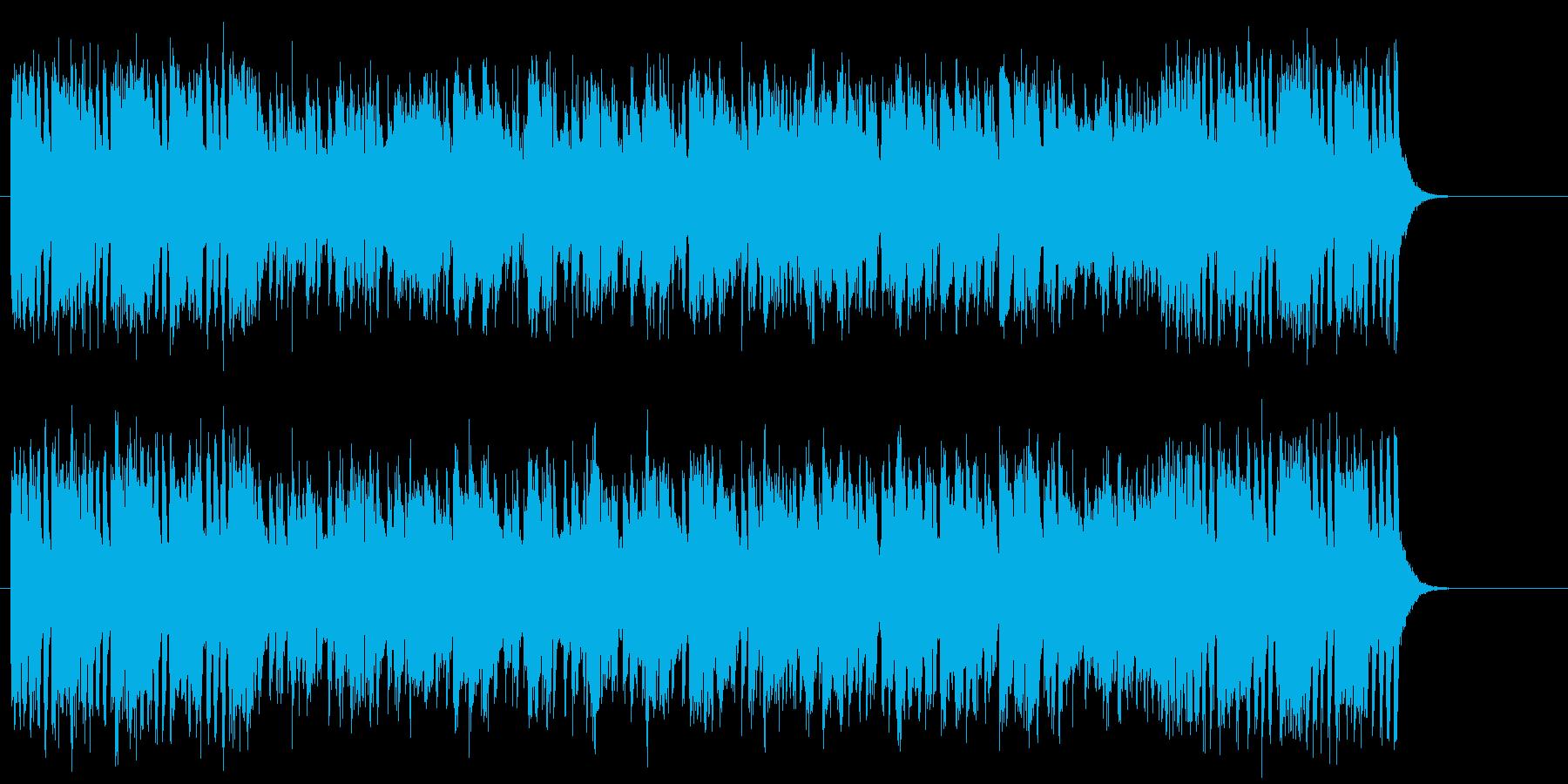 軽快で爽快なブライト・ポップスの再生済みの波形