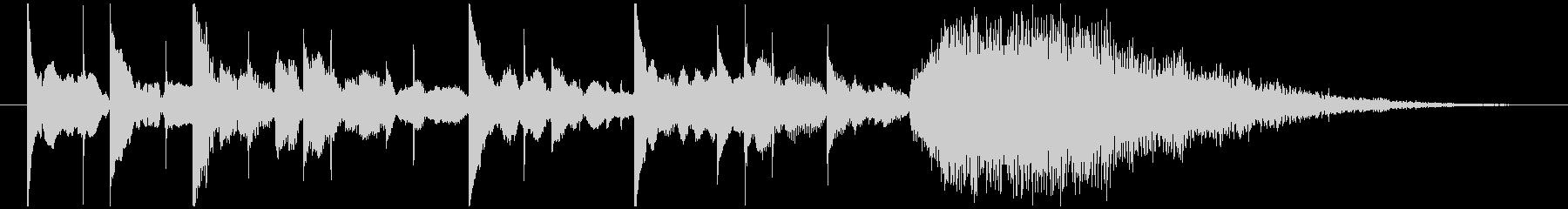 シンプルなデジタルエレクトロニクス系ロゴの未再生の波形