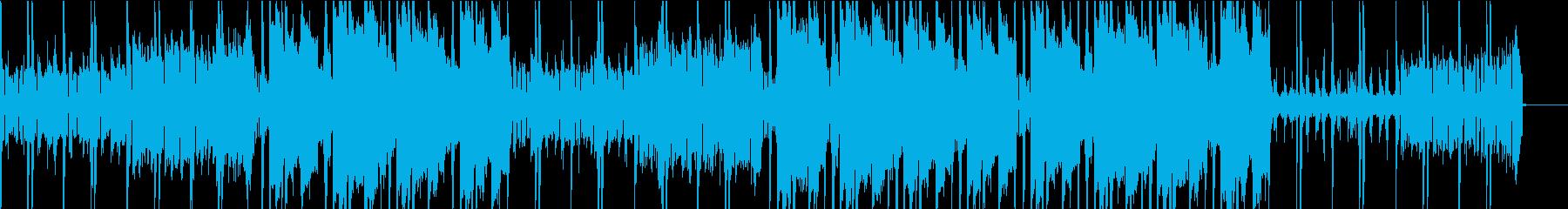 広大な景色に合うEDMの再生済みの波形