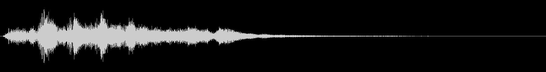 ハープ:コーダルグリス、上下の未再生の波形