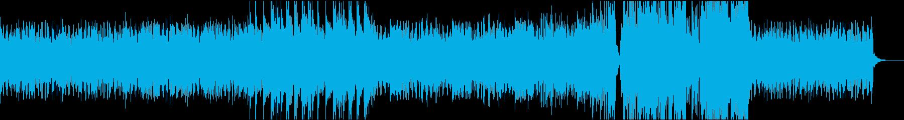 ハッピーポジティブトラックの再生済みの波形