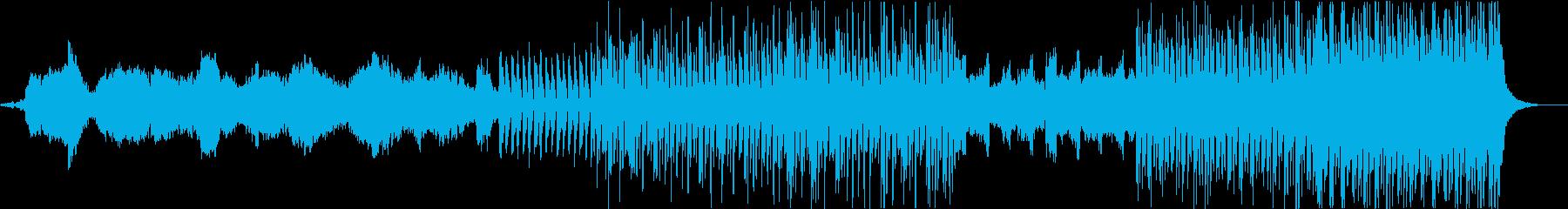 リズミカルなオーケストラと金管楽器の弦をの再生済みの波形