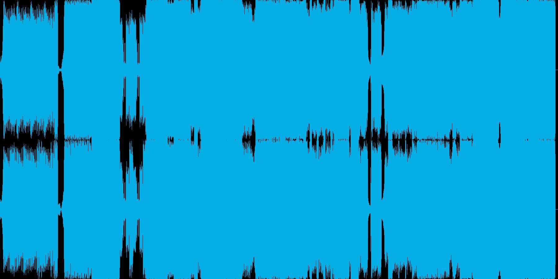 ハードブレイクビーツ/ハードコア/...の再生済みの波形