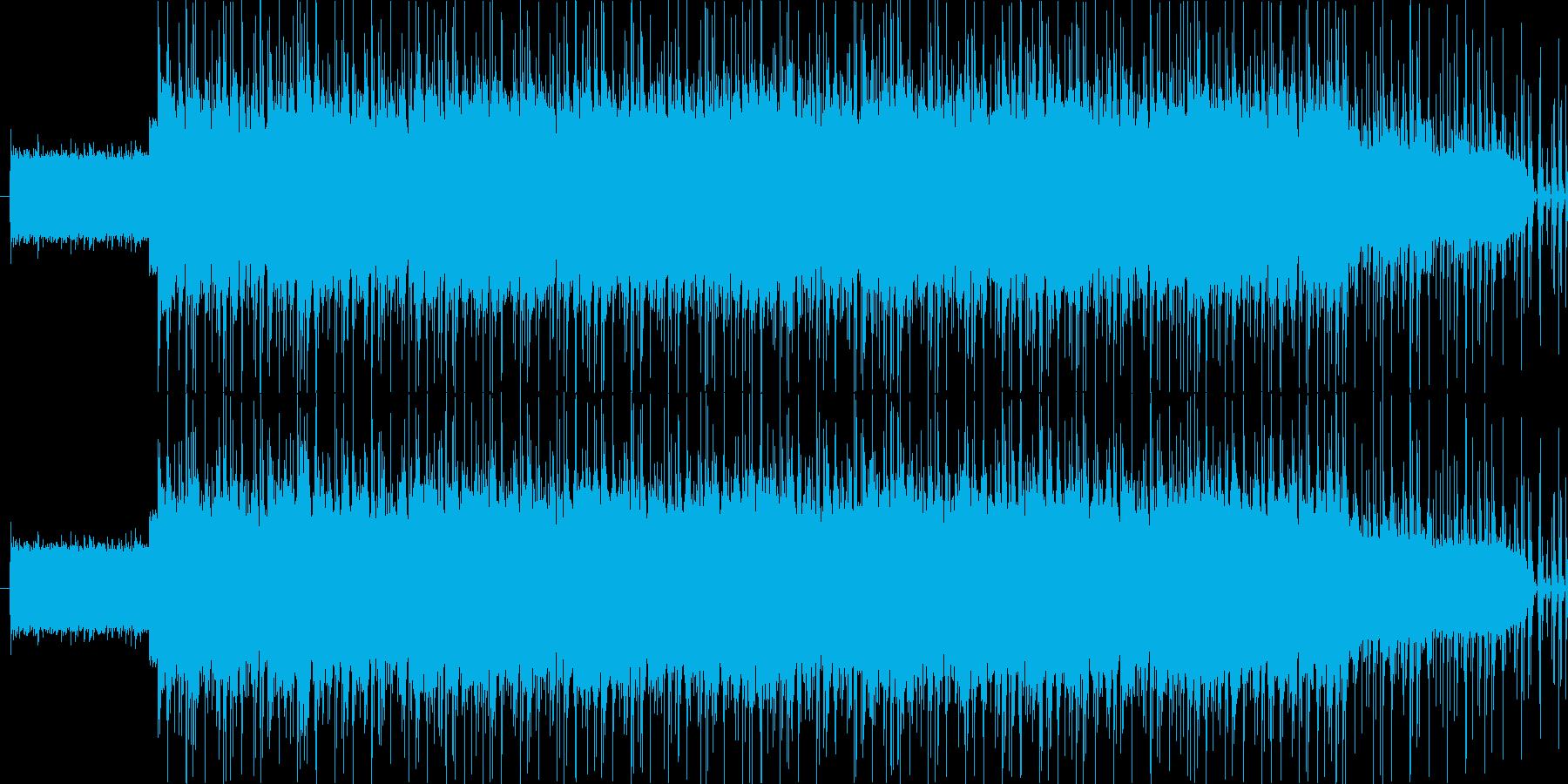 アンニュイなイメージですの再生済みの波形