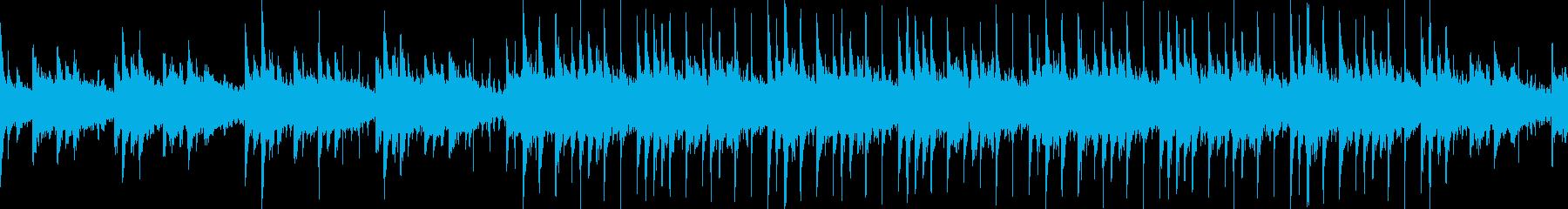 [Loop] 浮遊感のあるメロウポップスの再生済みの波形