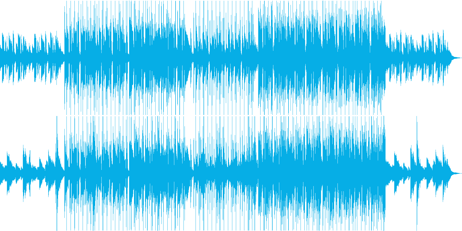 大人でチル・優しいLoFiなボサノバの再生済みの波形