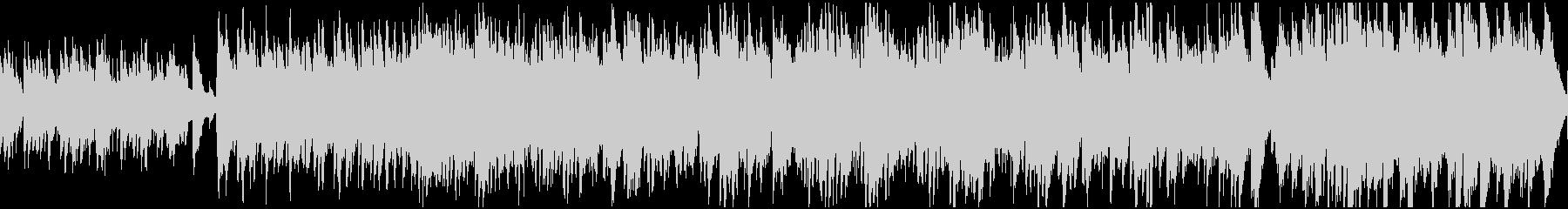 おだやかなケルト曲(ループ)の未再生の波形