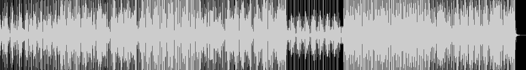 ファンク/ギター/ウッドパーカスEDMの未再生の波形