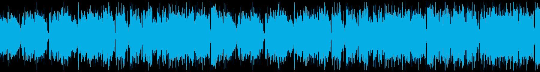 CM・おしゃれなシニア・ジャズ・ループの再生済みの波形