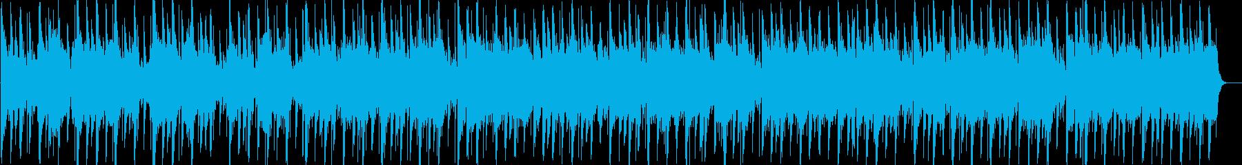 和風 雅な尺八と琴のASIAテイストの再生済みの波形
