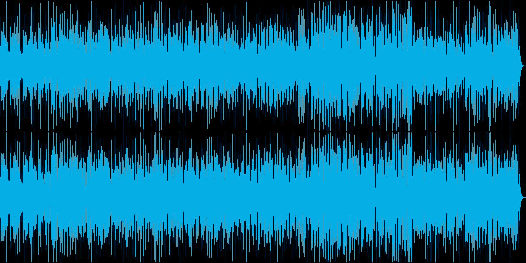 生音・しっとり大人のカフェボサノバの再生済みの波形