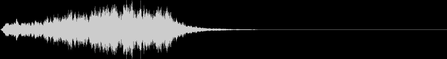 ボーイソプラノ3 アート芸術聖歌 8秒の未再生の波形
