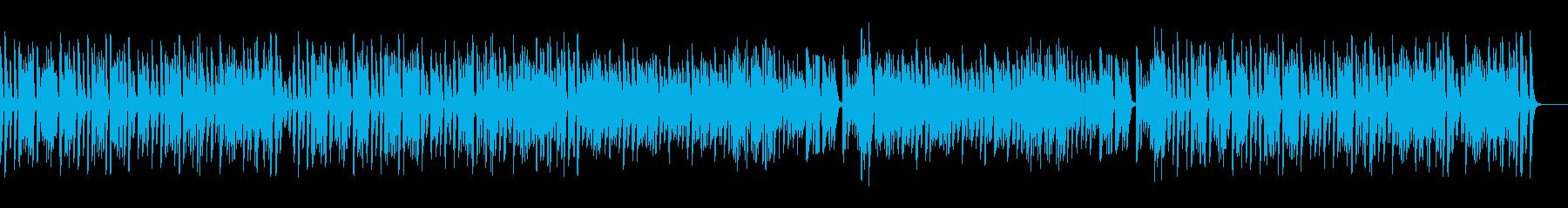 コミカルでお洒落レトロな名曲ピアノの再生済みの波形