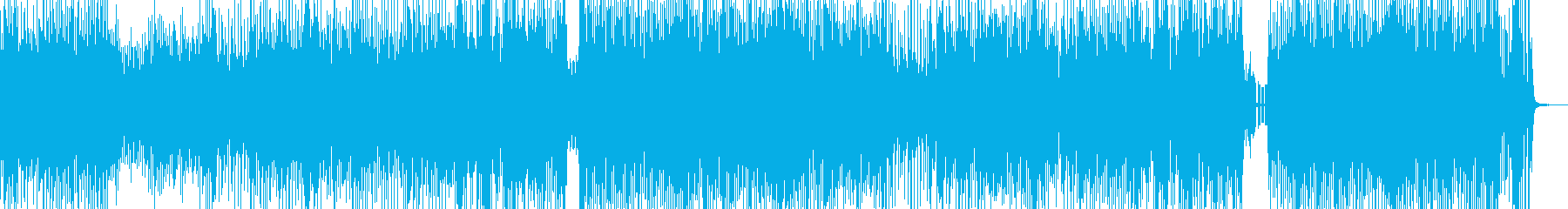 クセになるメロディの三味線テクノ 短尺の再生済みの波形