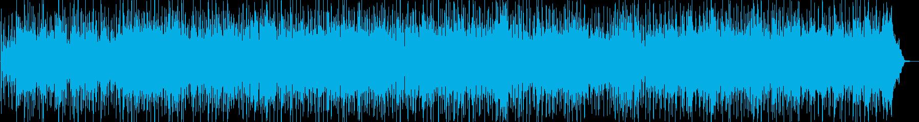勇気が湧き上がってくるボレロ風BGMの再生済みの波形