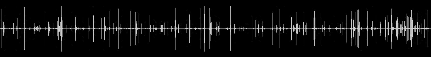 濃い液体の泡の未再生の波形