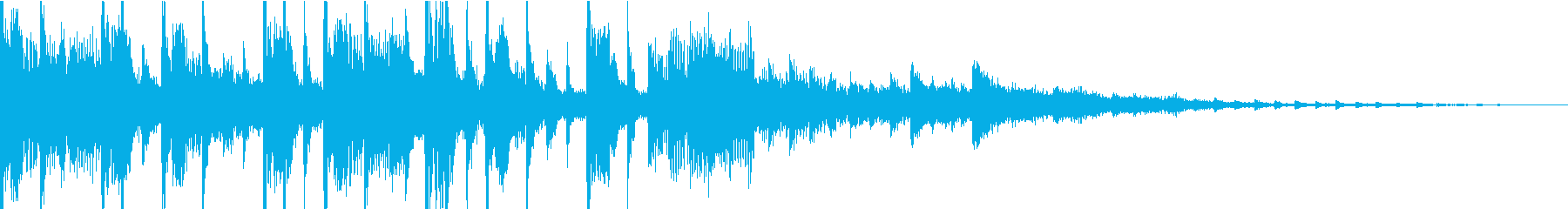 アップテンポ、ドライビングドラム&...の再生済みの波形