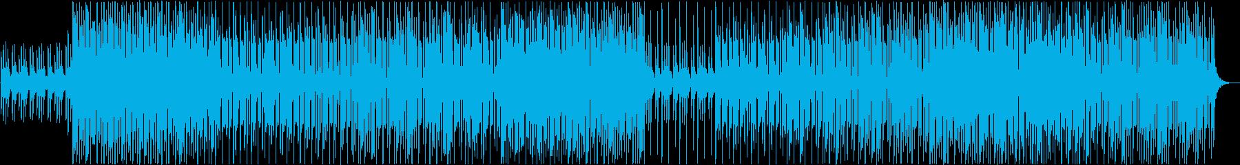 ハロウィン怪しげなロックテイストポップの再生済みの波形