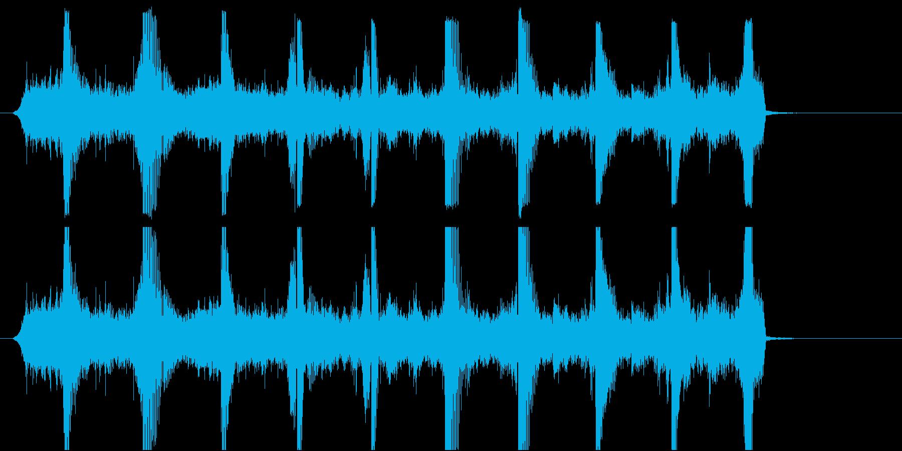 カウントダウン(英語) OP.SE.DJの再生済みの波形