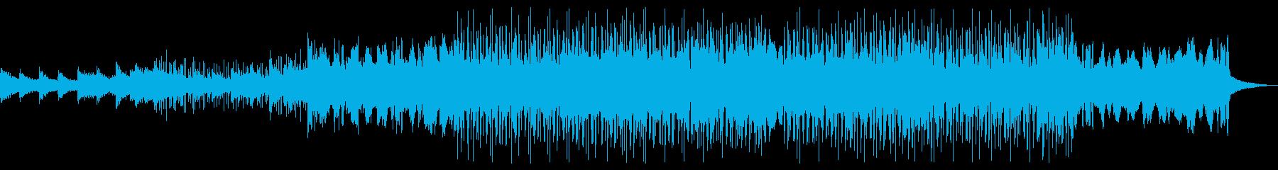 サイバー・浮遊感・疾走感・スタイリッシュの再生済みの波形