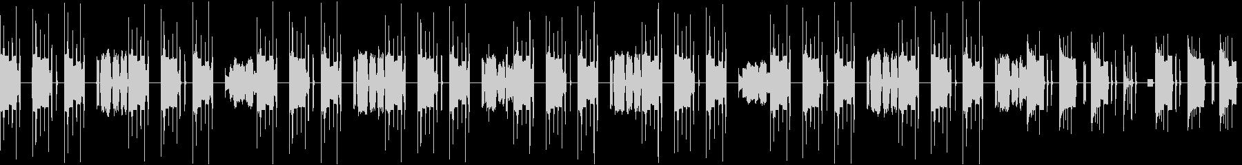 ユーチューバー用ナレーション背景BGMの未再生の波形