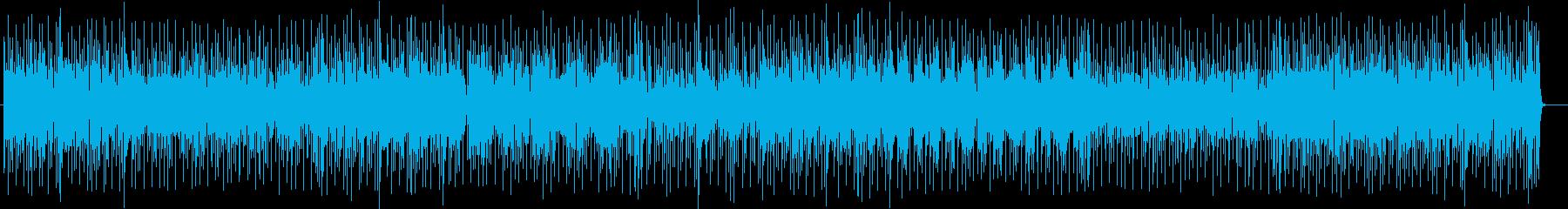 ヘンテコだけどなんだか楽しいポップソングの再生済みの波形