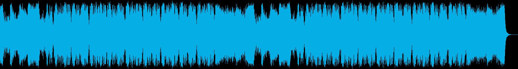 恐怖と脅威のホラーサバイバルオーケストラの再生済みの波形