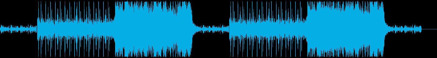 哀愁感のあるギターBGM・カッコイイの再生済みの波形