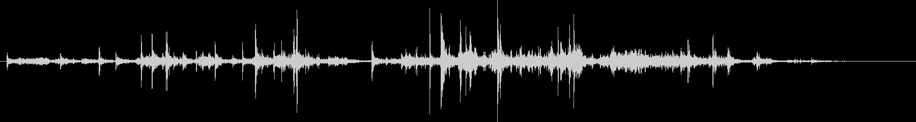 紙を丸める効果音 02の未再生の波形