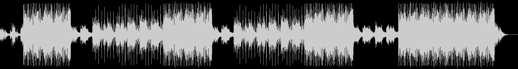 綺麗に響くピアノ/ミディアムバラードの未再生の波形
