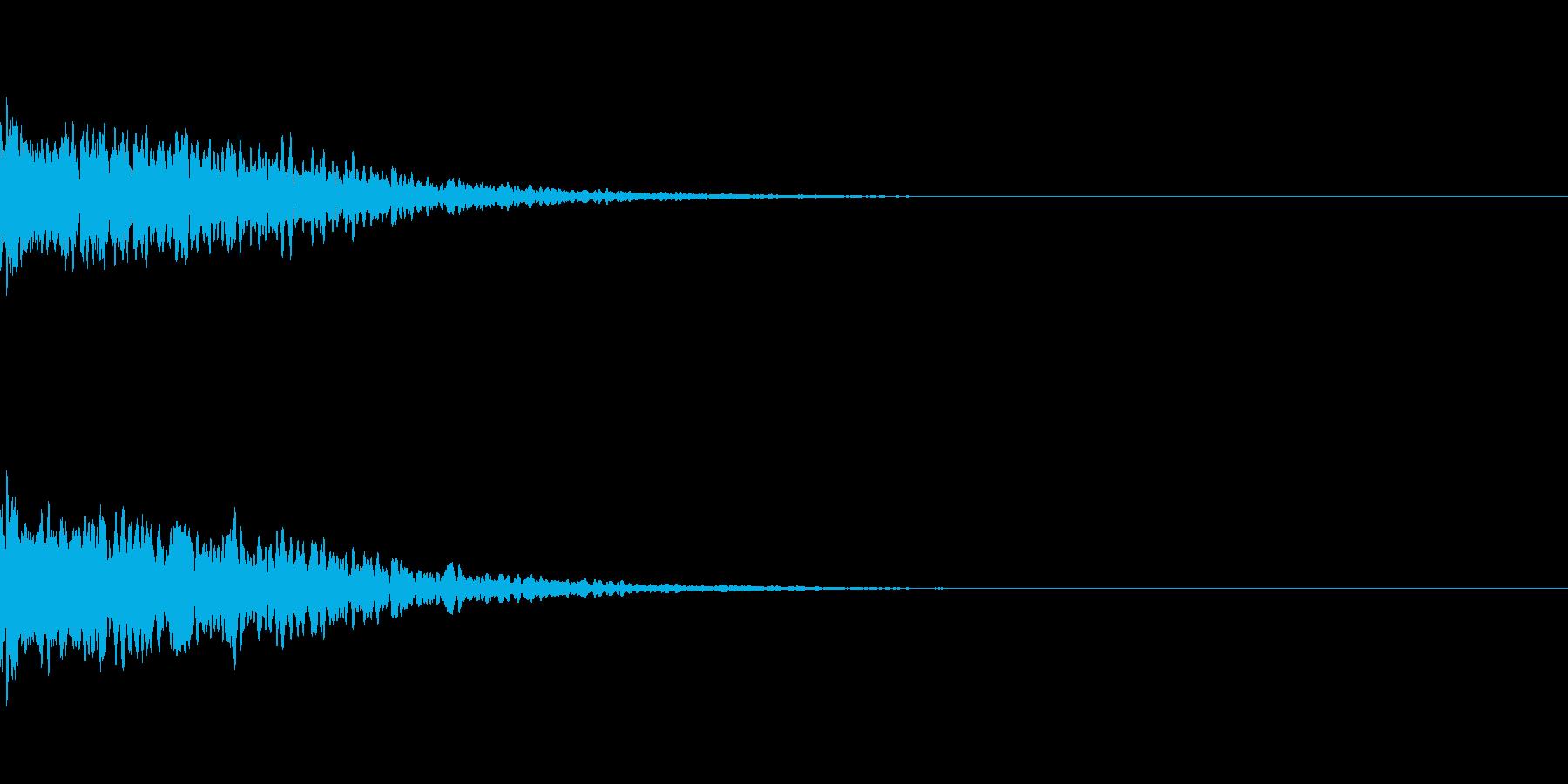 キキーンと光が差す音 神々しいの再生済みの波形