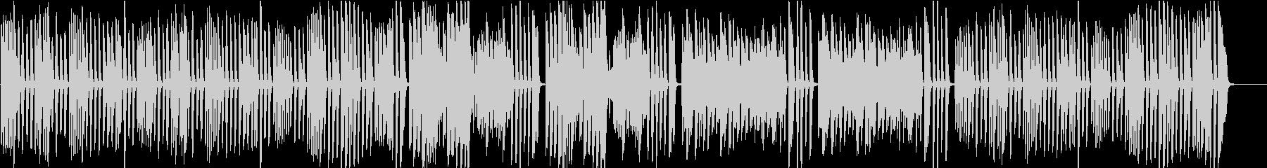 ピアノ名曲ガボット 上品でかわいい曲の未再生の波形