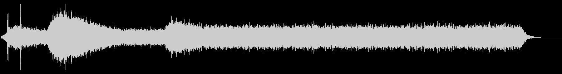 PC 駆動音01-02(オンオフ)の未再生の波形