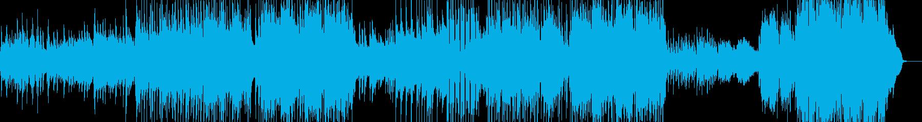 サックス・J-Pop風バラード 長尺+の再生済みの波形