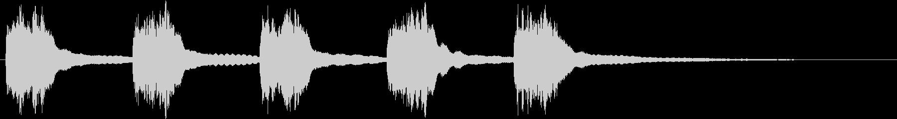黒電話 着信音01-2の未再生の波形