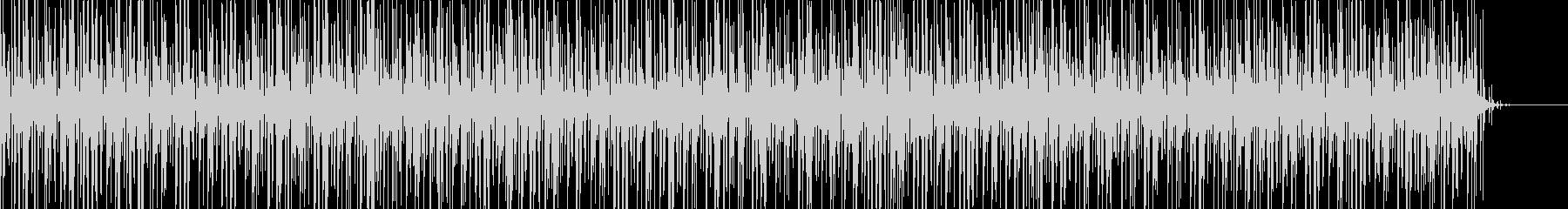 実用的な緊迫感のあるシンセBGM5の未再生の波形