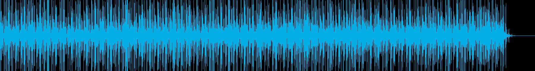 実用的な緊迫感のあるシンセBGM5の再生済みの波形