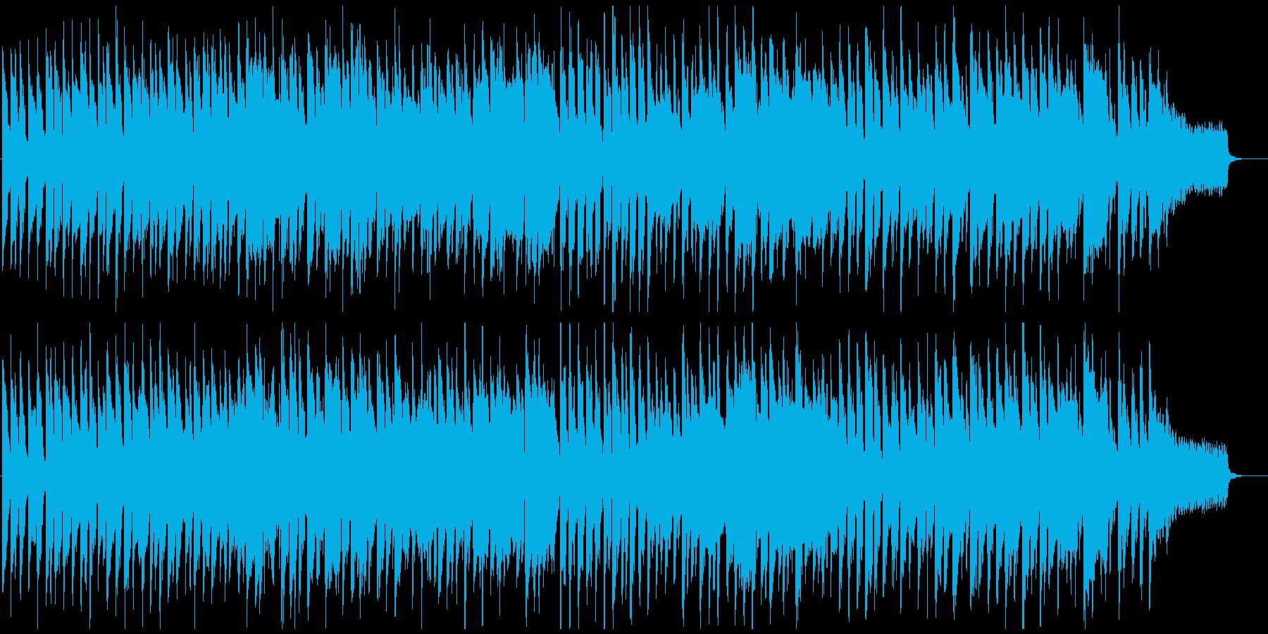 ほのぼのリコーダーのポップス、友達、子供の再生済みの波形