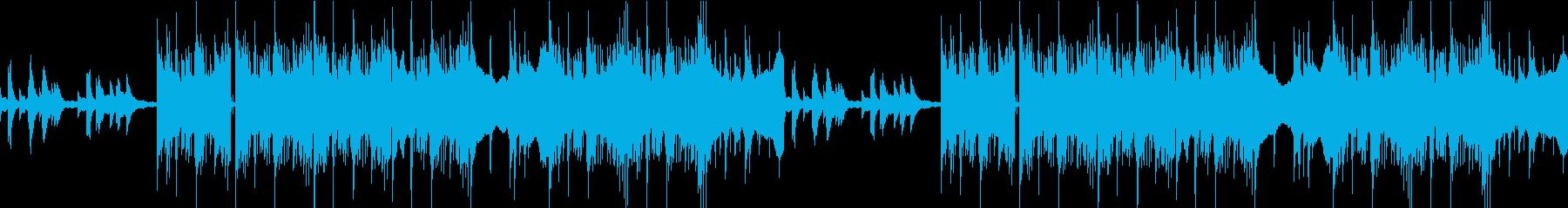 カフェ・日常・不穏なピアノ ループ可Lの再生済みの波形