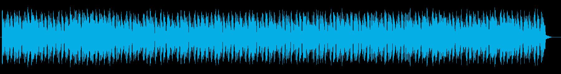 落ち着きのある大人なジャズの曲の再生済みの波形