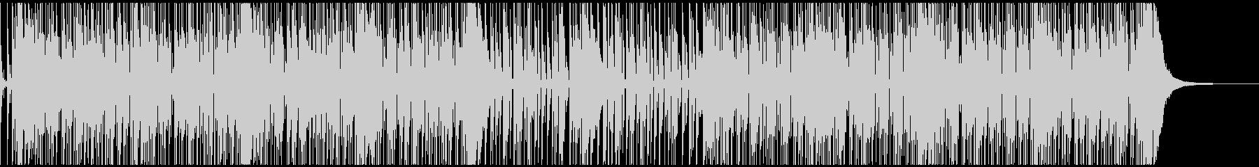 スラップベースが印象的なファンクの未再生の波形