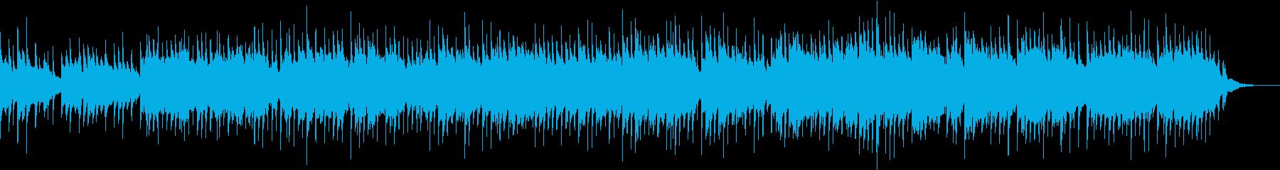 企業VPや自然動物映像/海・青感動ピアノの再生済みの波形