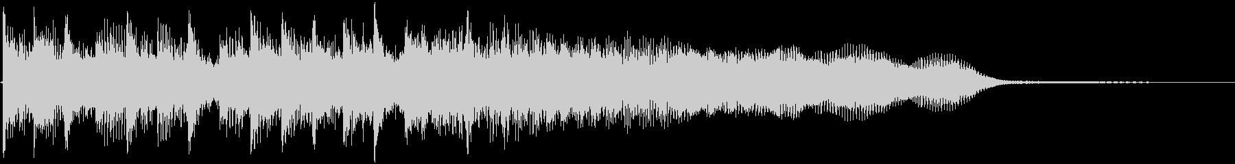 アイキャッチ/ギター/結果発表/場面転換の未再生の波形