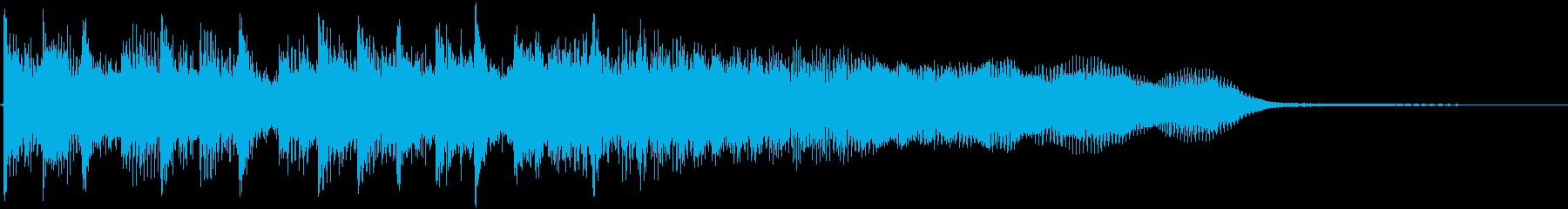 アイキャッチ/ギター/結果発表/場面転換の再生済みの波形